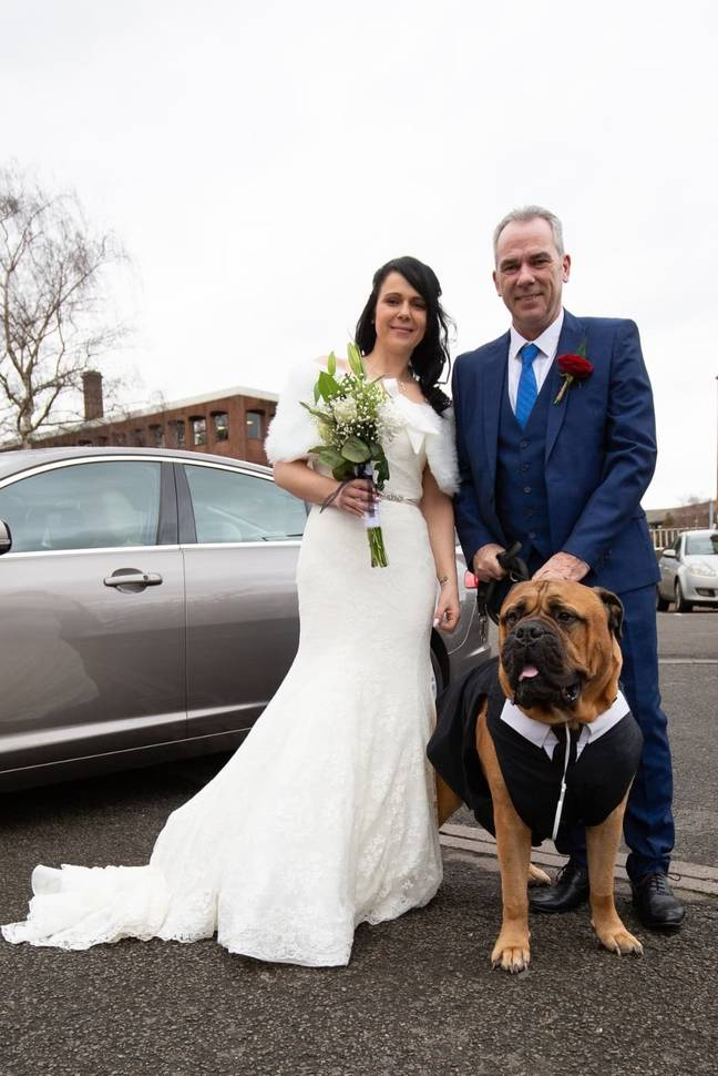 Estelle said all the hassle of rearranging the wedding was worth it to have Brucie there. Credit: Dawid Andrzejcak