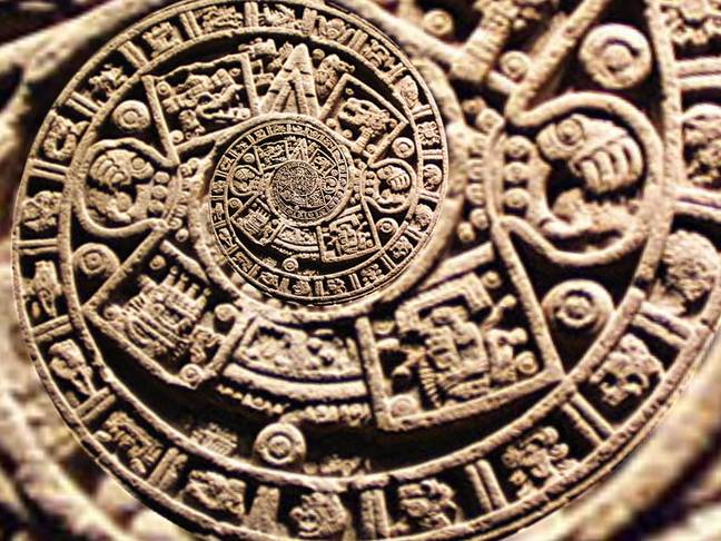 The theories are all based on when one of the 'great cycles' in the Mayan calendar had been due to come to an end (Credit: Flickr)