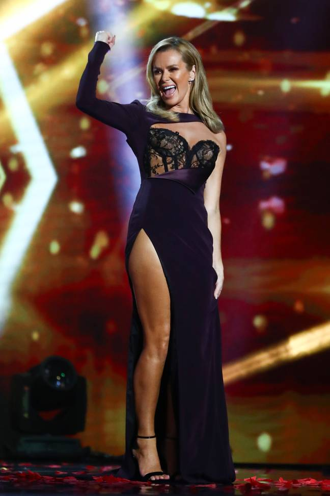 People were offended by Amanda's dress (Credit: ITV)