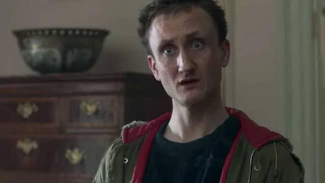 Tom Brooke as Michael Fagan in The Crown (Credit: Netflix)