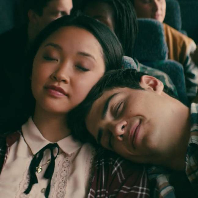 Lara Jean and Peter end up together - isn't that lovely? (Credit: Netflix)