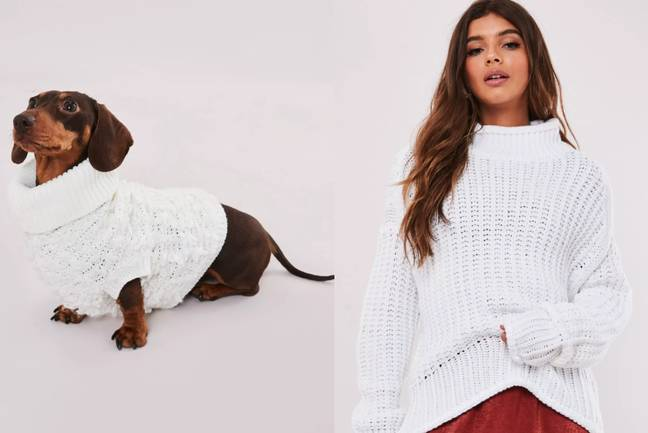 You can now twin your Missguided clothes with your dog (Credit: Missguided)