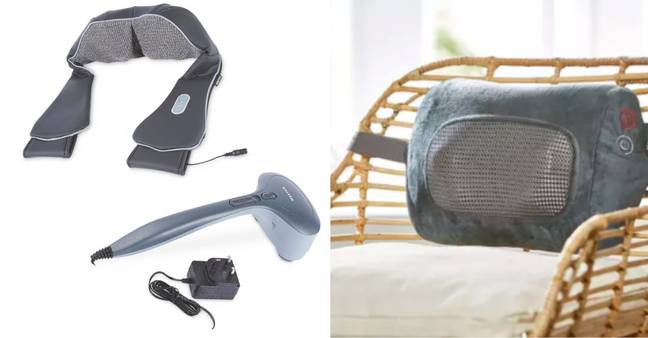 The Salter range has three massagers under £50 (Credit: Aldi)