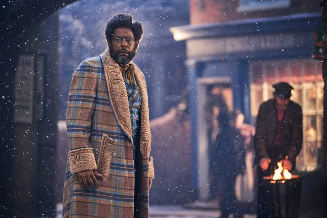 Forest Whitaker as Jeronicus Jangle, the iconic toy maker of Cobbleton (Credit: Netflix)
