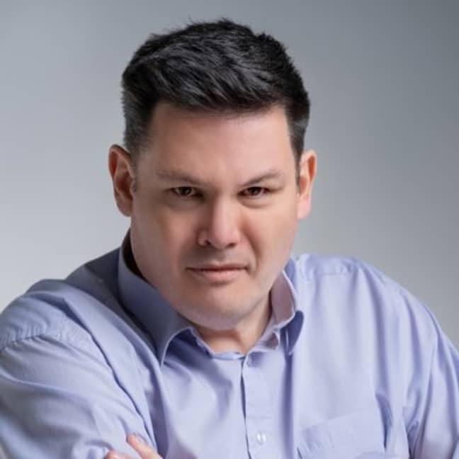 Mark Labbett is a star on The Chase (Credit: Twitter/MarkLabbett)