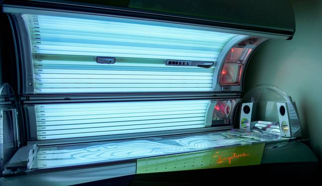 Tanning beds could potentially lead to endometriosis (Credit: PA Images)
