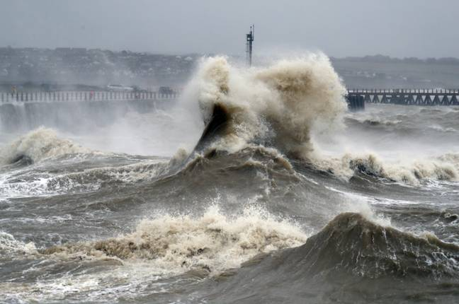 Strong waves can be expected on the coasts (Credit: PA)