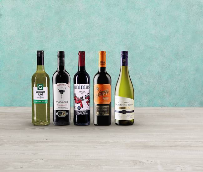 Try a selection of Aldi's award-winning wines from your home (Credit: Aldi)
