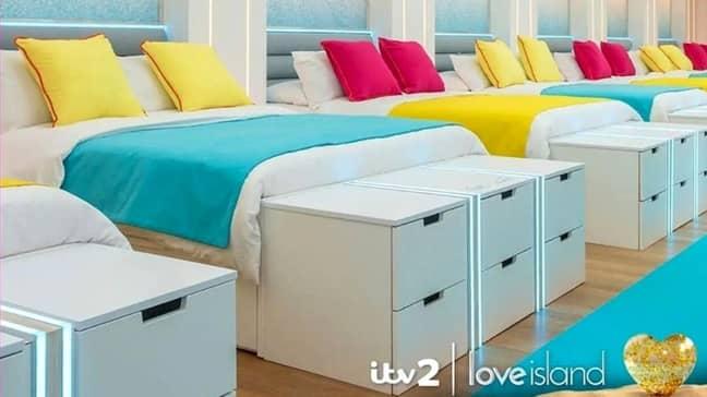 Love Island villa (Credit: ITV)