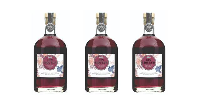 Morrisons also offer a festive Plum, Maple & Cinnamon Gin (Credit: Morrisons)