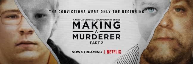 Making a Murderer season 2 ending ' Credit: Netflix/Making a Murderer