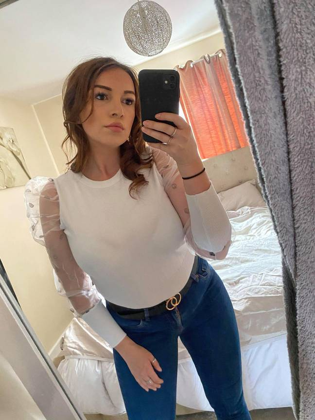 Mum-of-one Amy wants to warn others of the dangers of toxic shock syndrome (Credit: HotSpot Media)