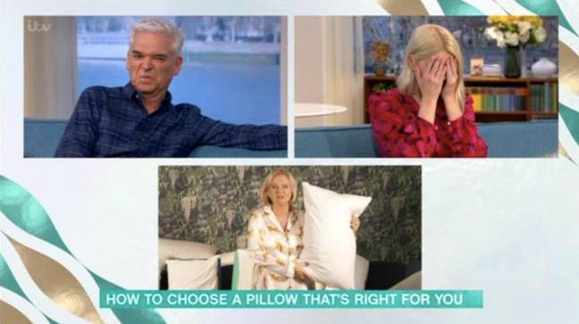 Holly felt sick at the news from Alice (Credit: ITV)