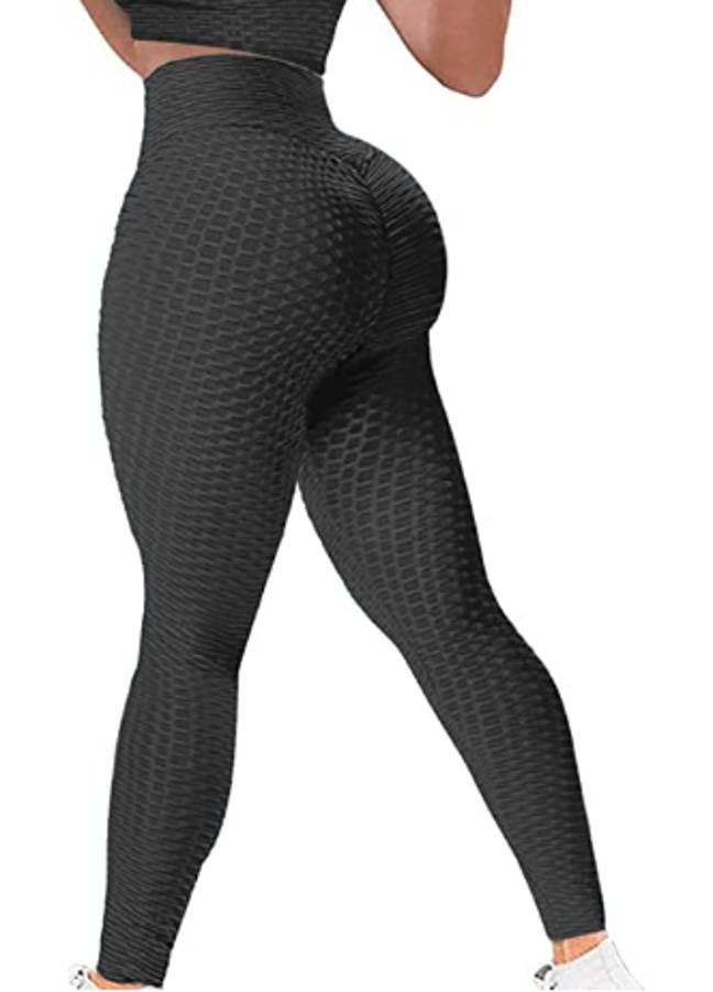 The leggings claim to be 'butt-lifting' (Credit: Amazon)