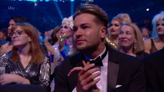 She also thanked boyfriend, Chris Hughes for his support (Credit: ITV)