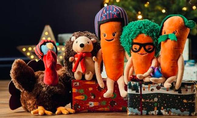 Aldi has introduced lots of toys to the Kevin The Carrot range in the last year (Credit: Aldi)