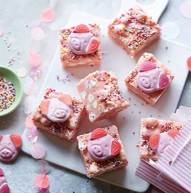 Why not try your hand at making your own Percy Mallow Fudge? (Credit: M&S)