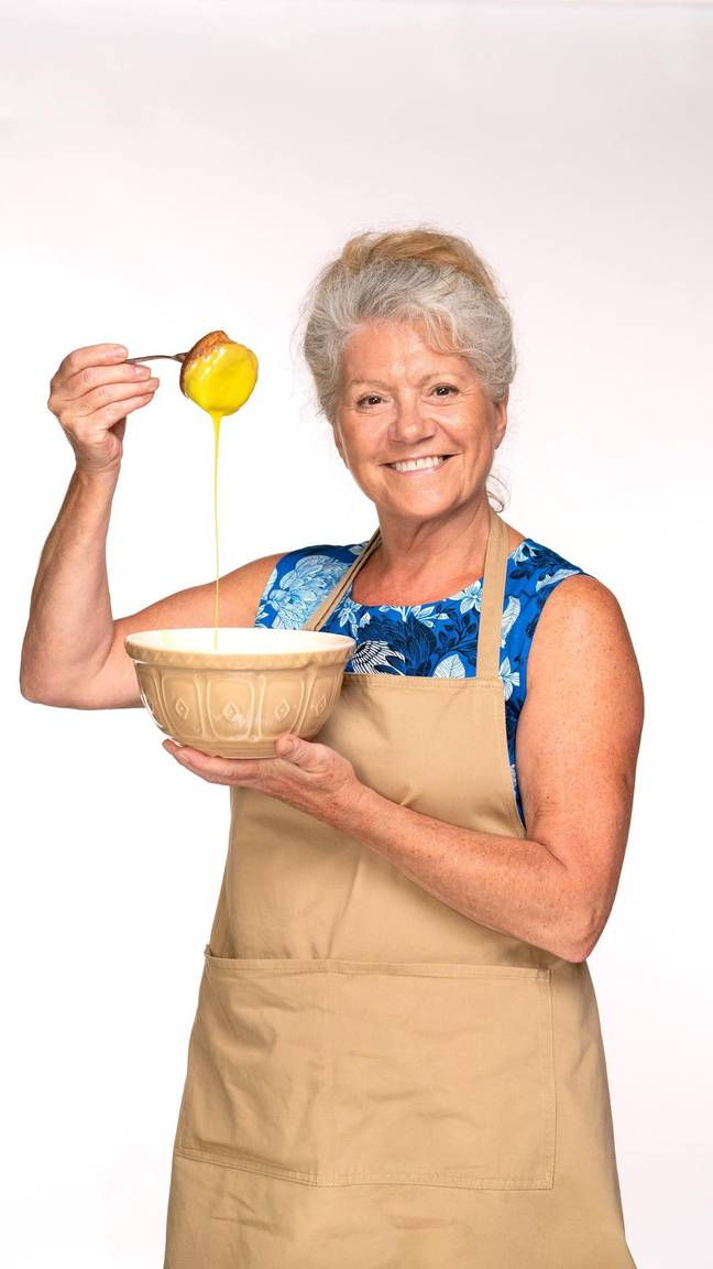 Baking has been Linda's hobby ever since she was little (Credit: Channel 4)