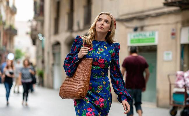 Villanelle has started a new life in Barcelona (Credit: BBC)