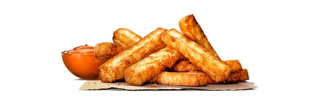 The halloumi fries are the most exciting new addition (Credit: Burger King)