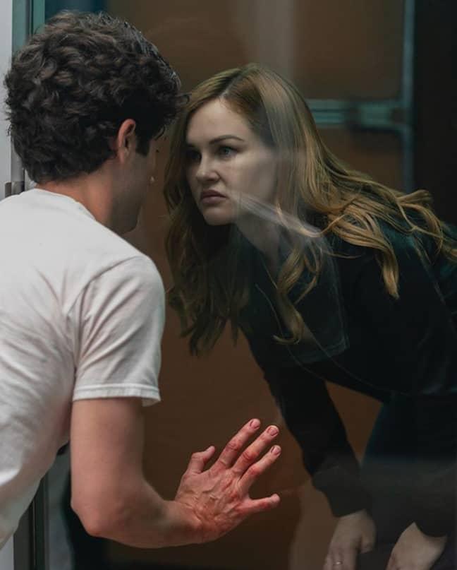 Candace traps Joe in his killing box (Credit: Netflix)