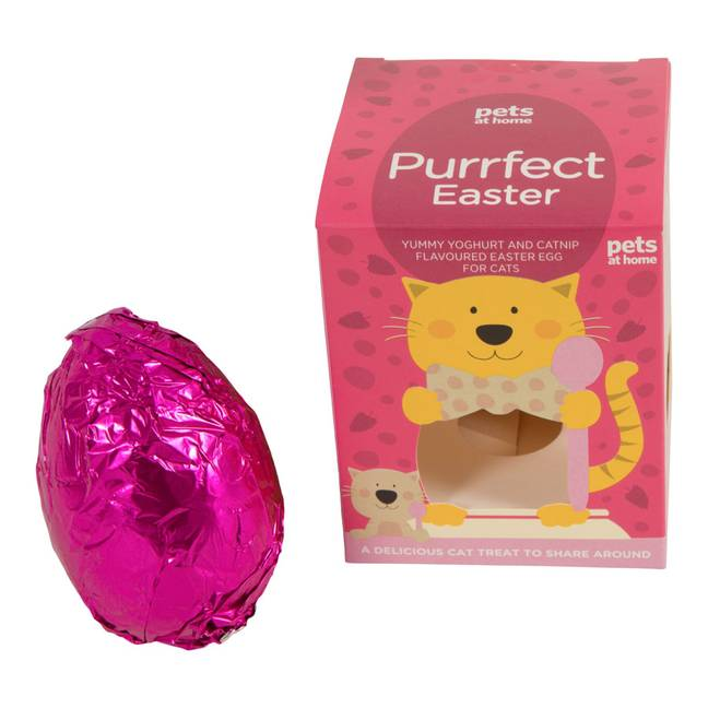 Cats can also have a little treat this Easter (Credit: Pets at Home)
