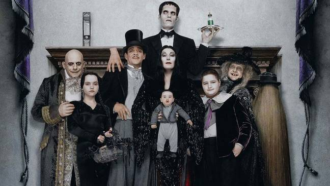 We'll also be watching the nineties classic 'Addams Family Values'