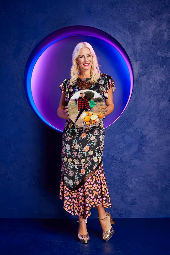 Denise Van Outen will play as herself (Credit: Channel 4)