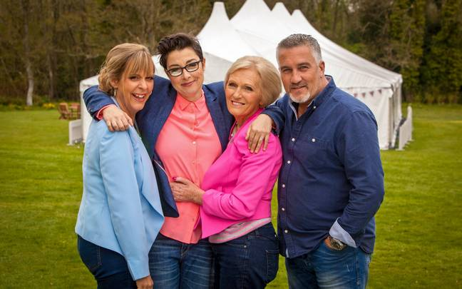The Great British Bake Off's OG episodes are on Netflix (Credit: BBC)