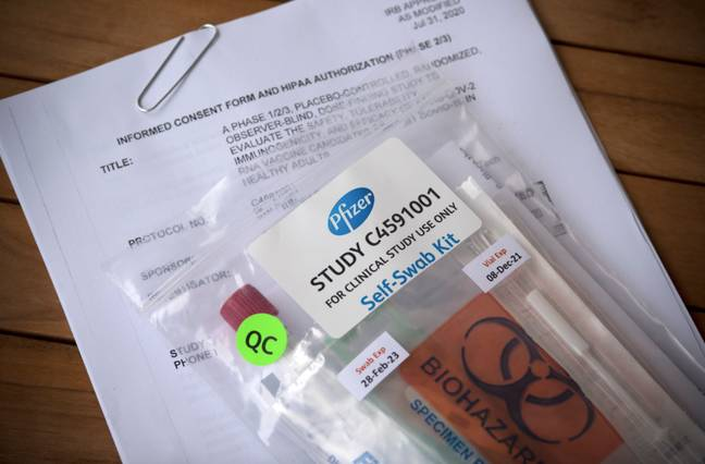 Pfizer and BioNTech have developed the vaccine (Credit: PA Images)