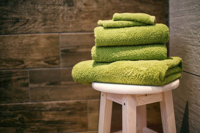 Sharing towels can increase the chance of passing on conjunctivitis and other bacterial infections (Credit: Unsplash)