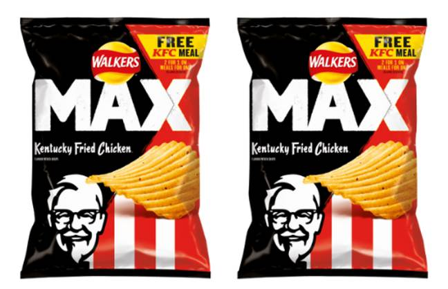 The limited edition crisps are available now (Credit: Walkers)
