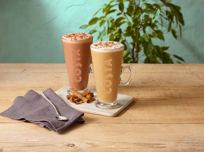 If you're a toffee fan, you'll love the new additions (Credit: Costa Coffee)