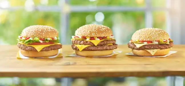 There are loads of new menu items at the moment (Credit: McDonald's)