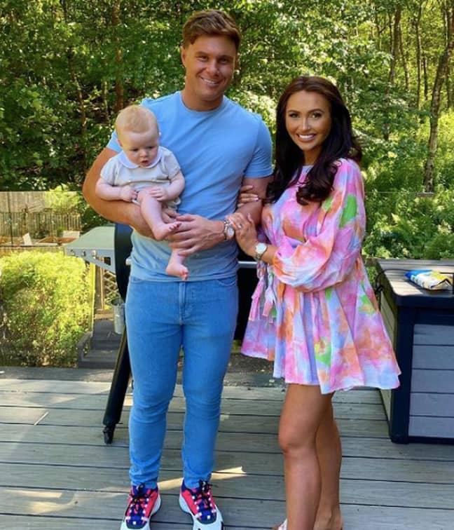 Charlotte welcomed baby Noah back in January (Credit: Charlotte Dawson/Instagram)