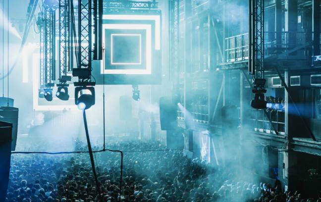 Venues like Printworks, London, used to hold as many as 4000 people (Credit: Printworks London)
