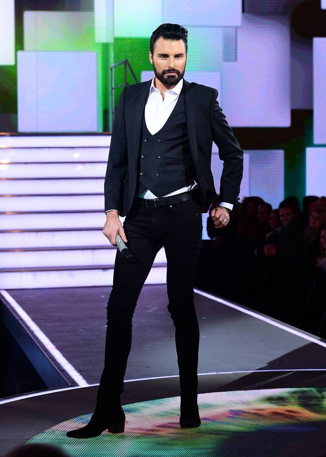 Rylan's real name is Ross (Credit: PA)