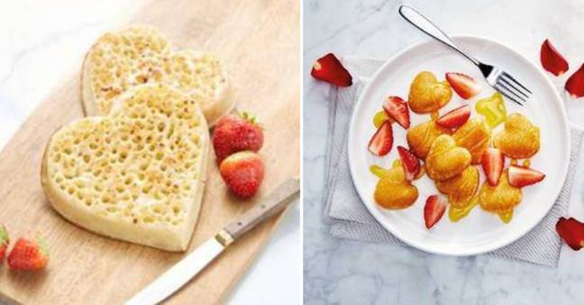 There are heart shaped breakfast goods, too (Credit: Aldi)