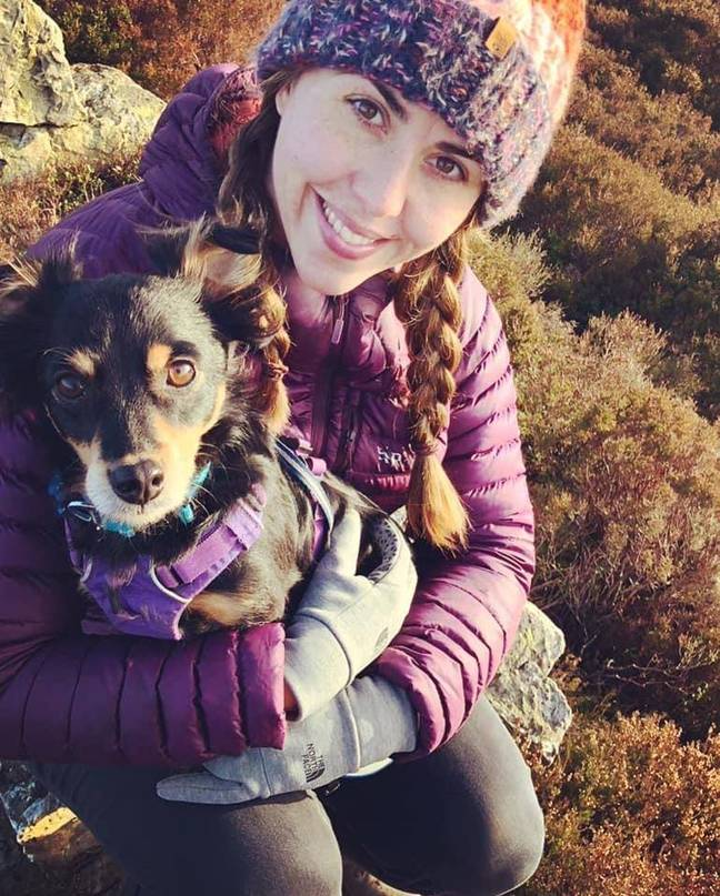 Rachel is a clinical animal behaviourist and feels her life is happy as it is (Credit: Rachel Rodgers)