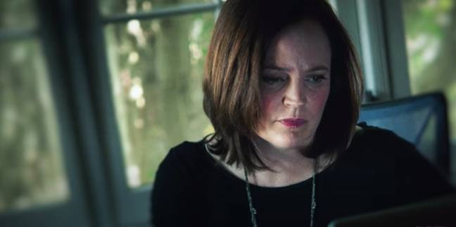 Michelle McNamara made it her mission to get to the bottom of the case (Credit: HBO)