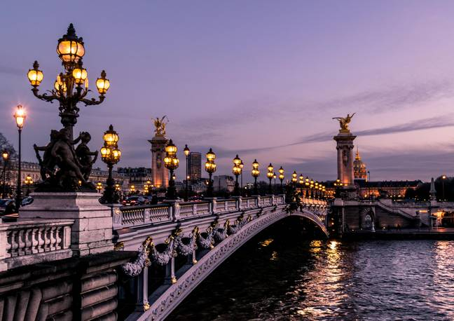 'Emily in Paris' is set in the romantic French capital (Credit: Unsplash)