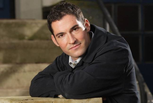 Tom Ellis as Dr Oliver in 'EastEnders' (Credit: BBC)