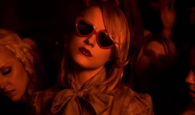 Evan Rachel Wood starred in Marilyn Manson's music video (Credit: Interscope)