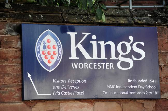 Staff at King's School in Worcester have been accused of enforcing