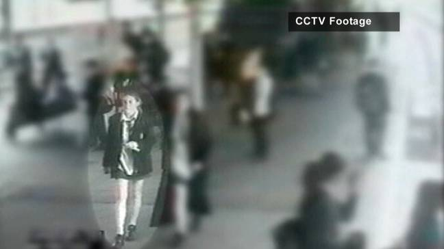 Milly was snatched on her way home from school in 2002 (Credit: Crime+Investigation)