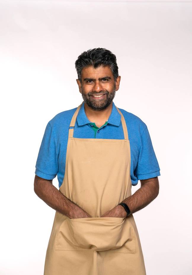Makbul has a speciality for rustling up delicious pastries.(Credit: Channel 4)