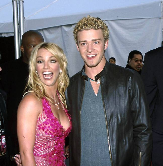 Justin Timberlake and Britney Spears were America's golden couple (Credit: PA)