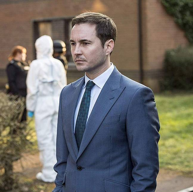 Martin Compston teased that production had started (Credit: BBC)