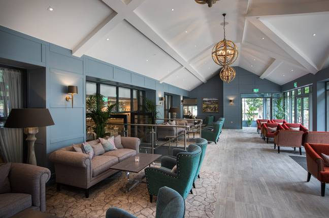 The special sleep menu is served in the conservatory and lounge areas (Credit: Lake District Hotels)