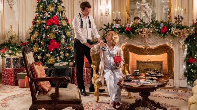 The first trailer for 'A Christmas Prince: The Royal Baby' has been released. (Credit: Netflix)